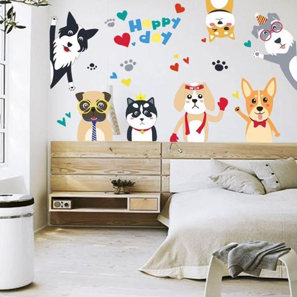 【Loviisa 狗】無痕壁貼 壁紙