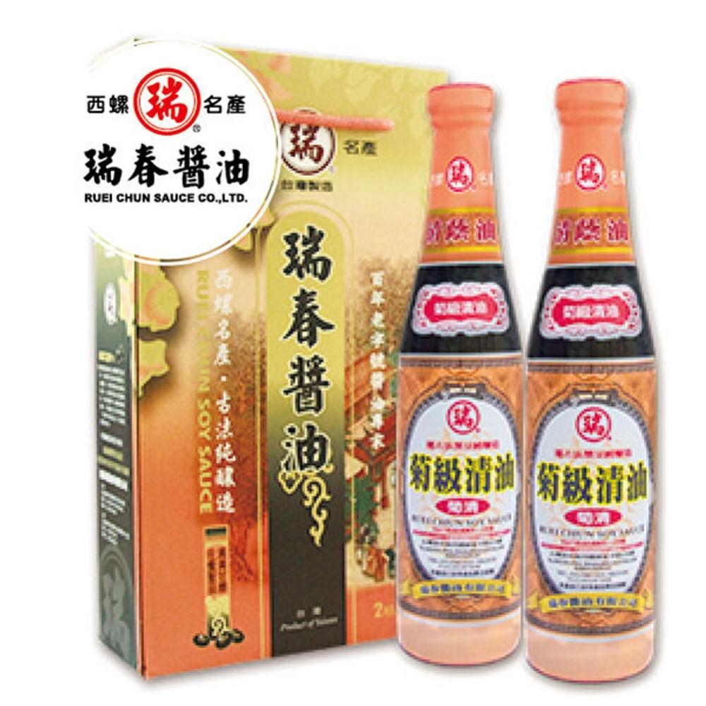 瑞春.菊級清油精裝(兩瓶/組,共六組12瓶)