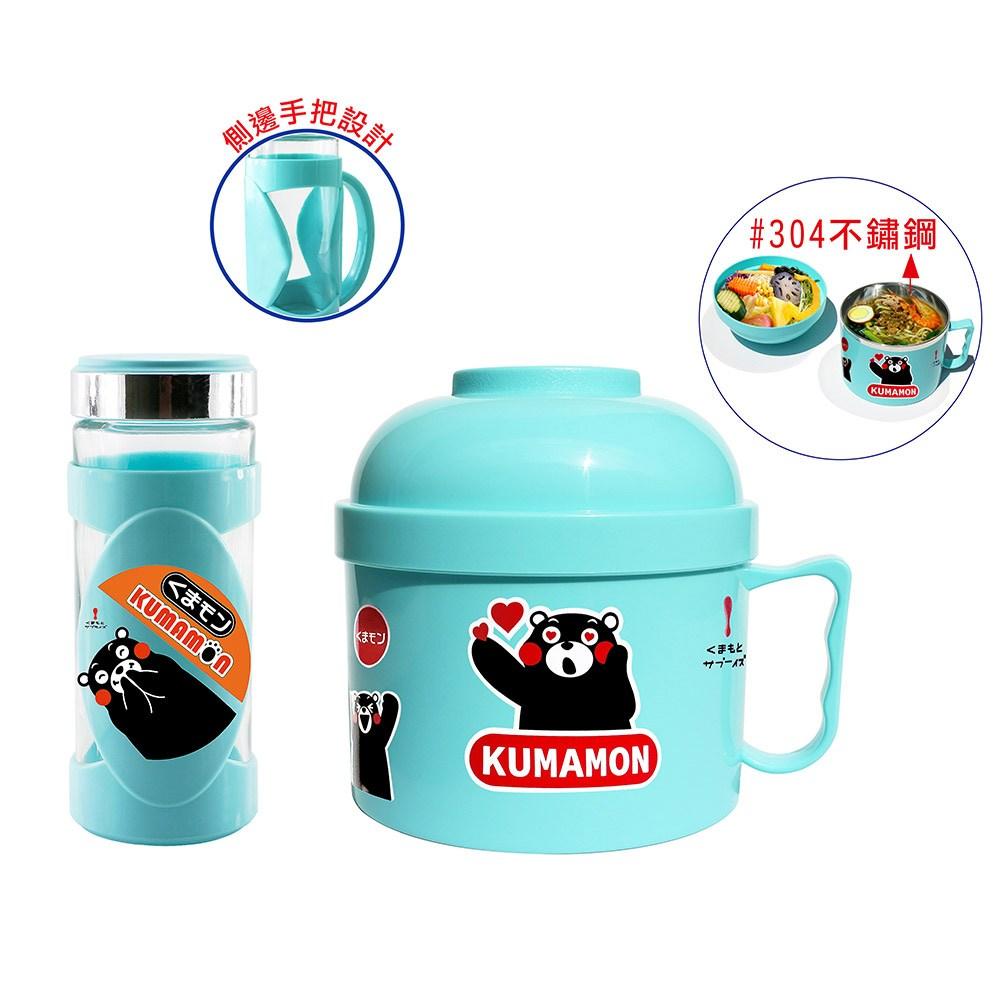 熊本熊酷MA萌 玻璃禮盒組(餐碗+隨身杯) R-2800K+S-960