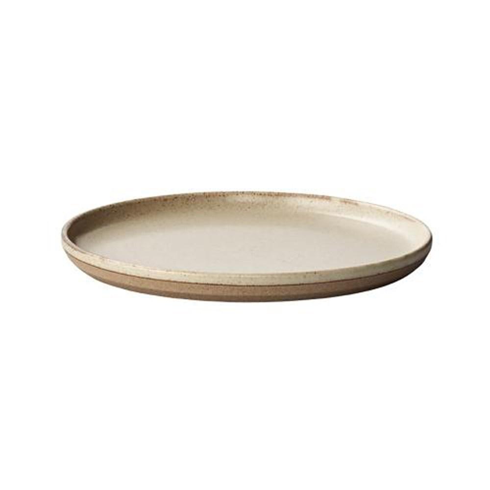日本KINTO CERAMIC LAB淺盤20cm-米色米色