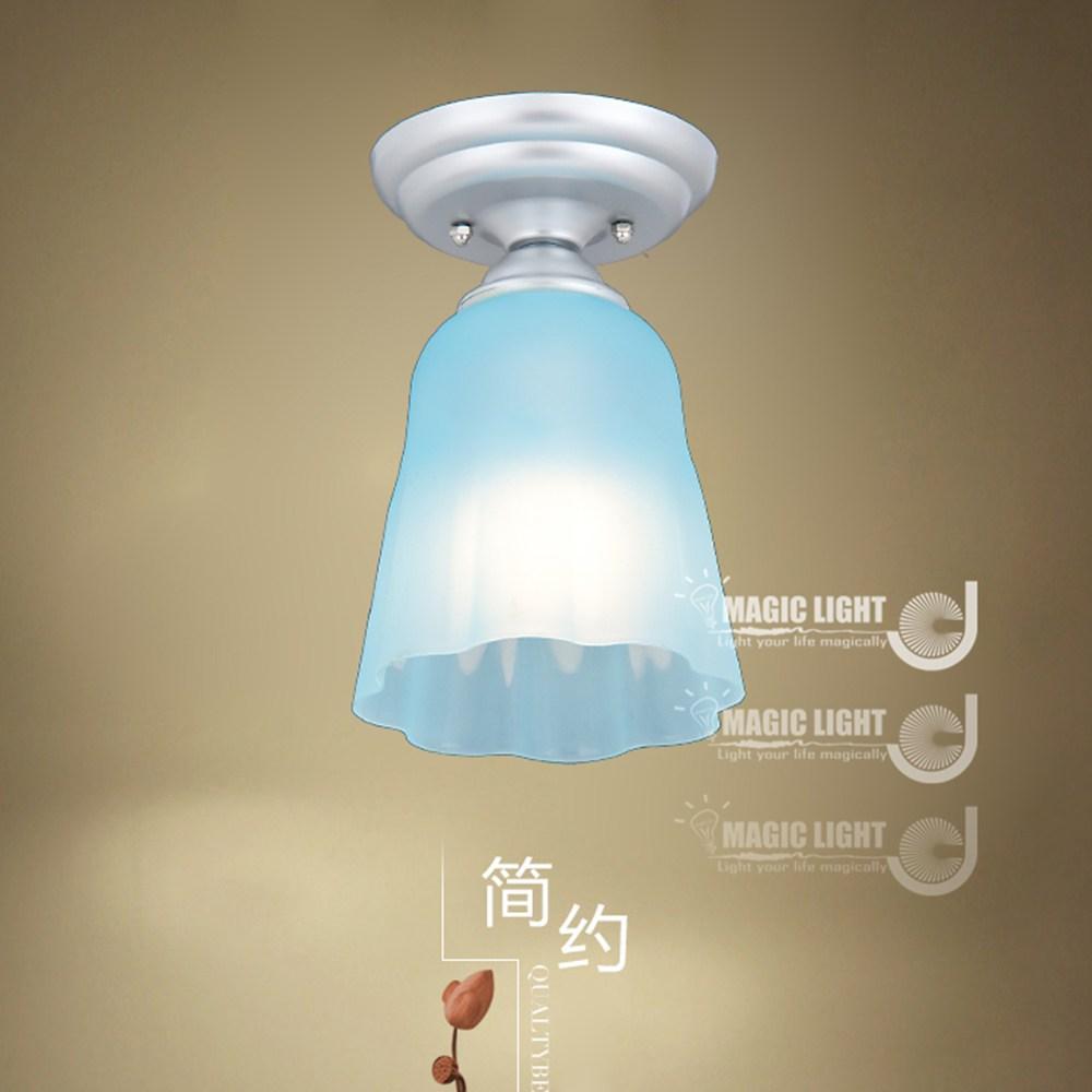 【光的魔法師 Magic Light】布丁吸頂燈 BLUE 藍