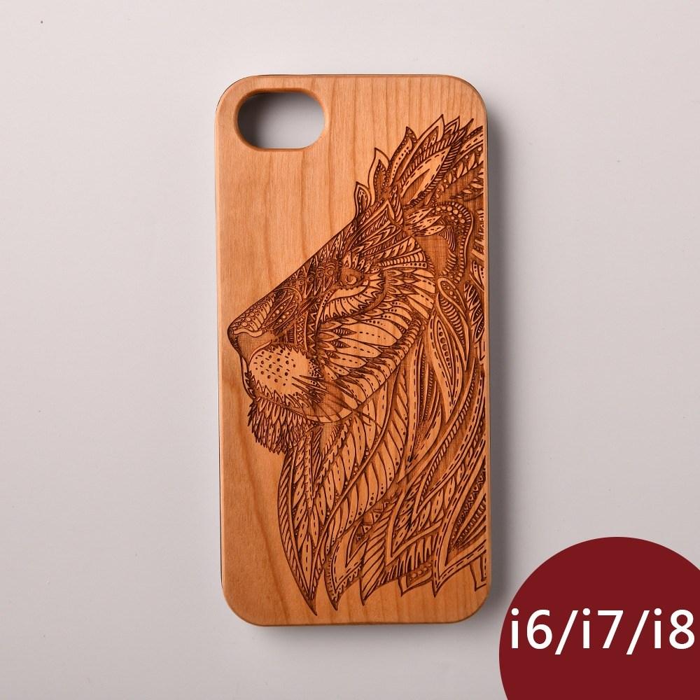 Woodu 木製手機殼 王者榮耀 iPhone i6 i7 i8適用