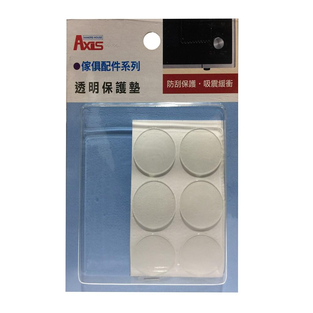 透明保護墊-圓型25mm-12入