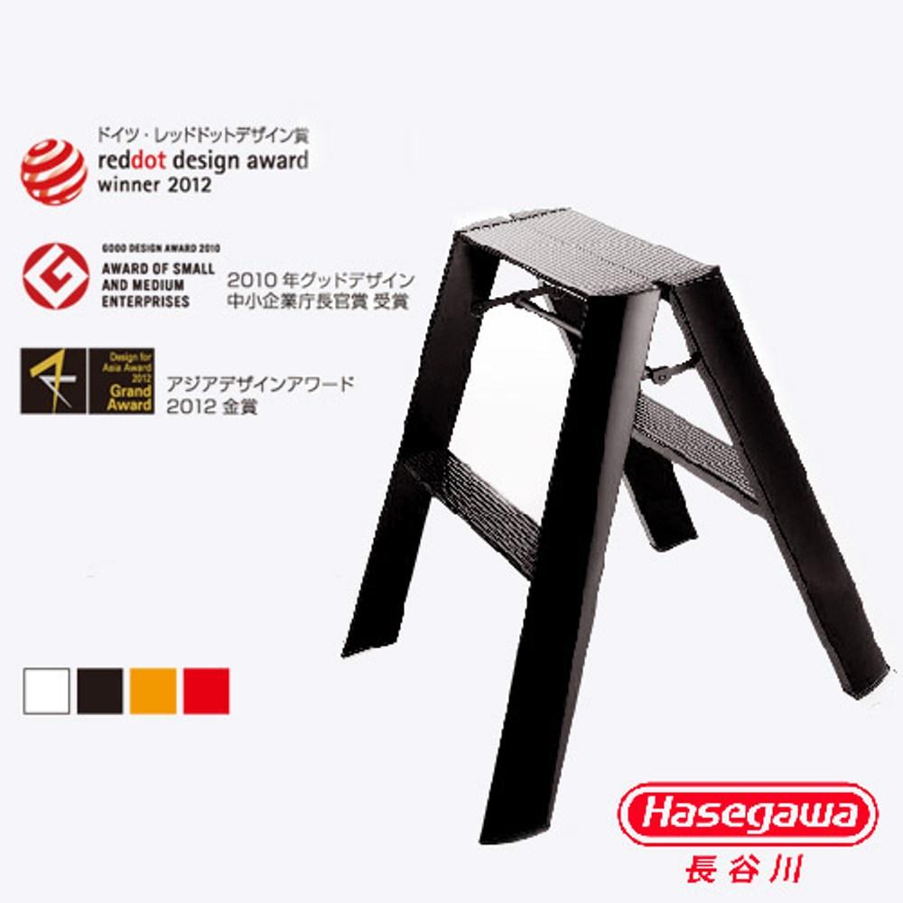 【長谷川Hasegawa設計好梯】Lucnao設計傢俱梯二階黑色(56CM)