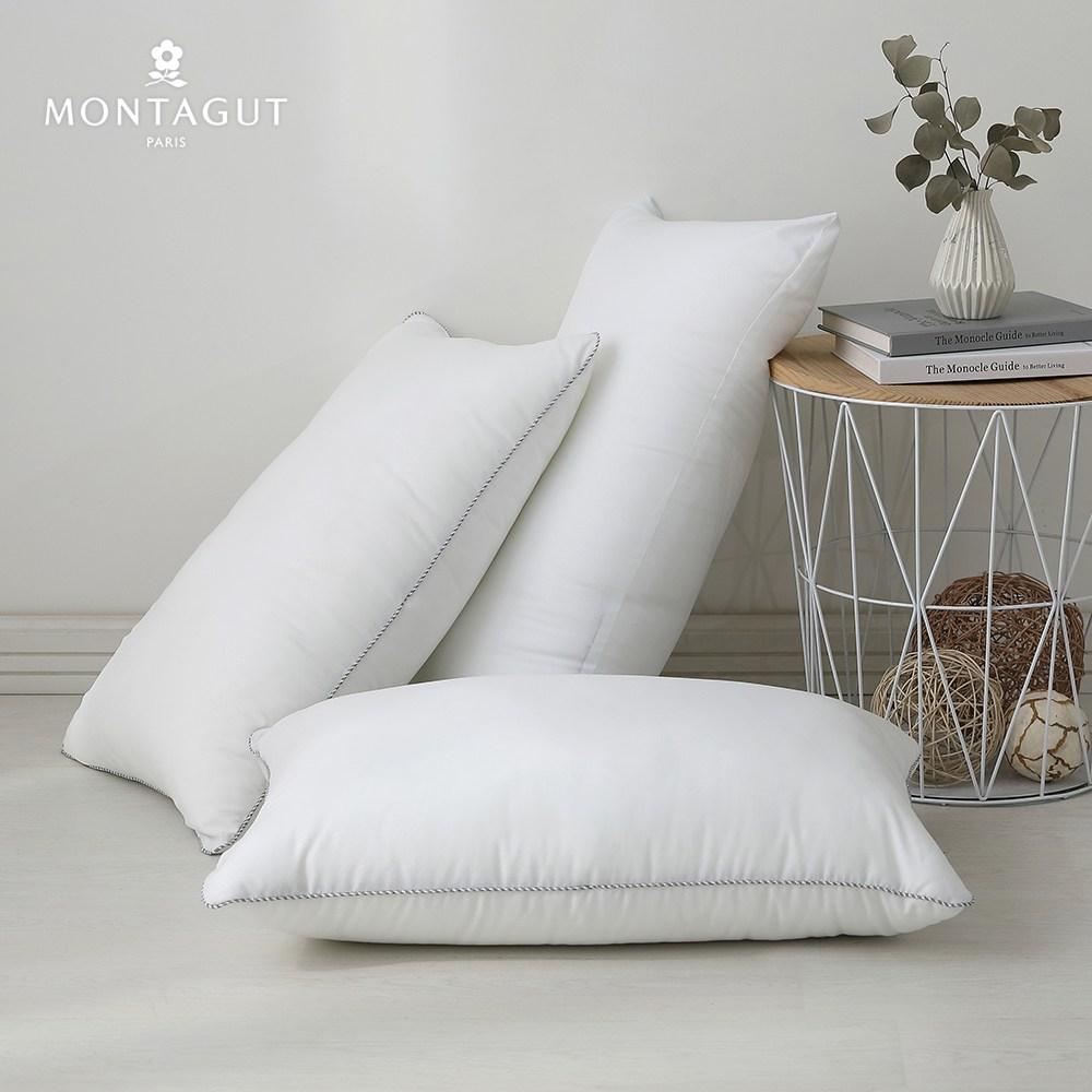 MONTAGUT-水洗抗菌超柔好眠枕2入(45x75cm)