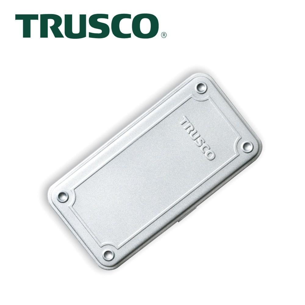 【Trusco】上掀式收納盒經典款(大)-槍銀