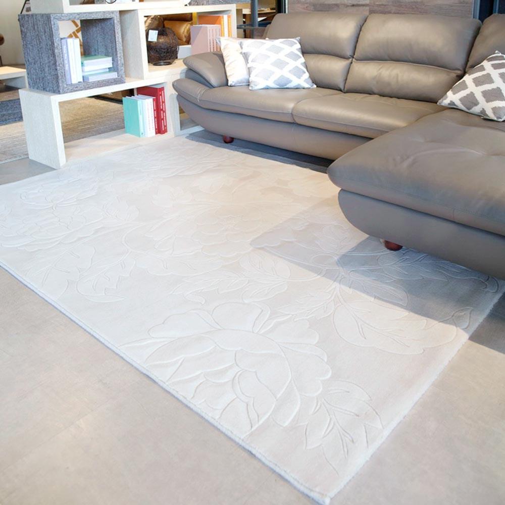 【YFS】羊毛手工片剪地毯-知足240x340cm