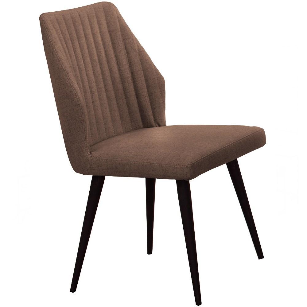 韋伯咖啡皮餐椅