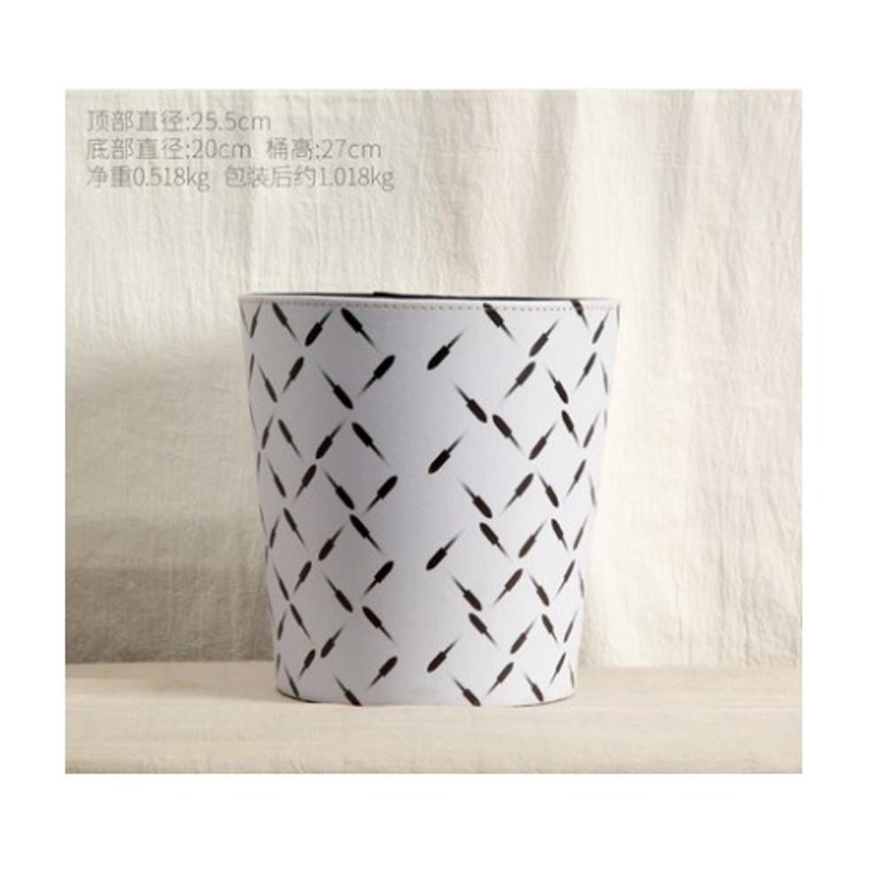 造型皮革收納桶-火柴