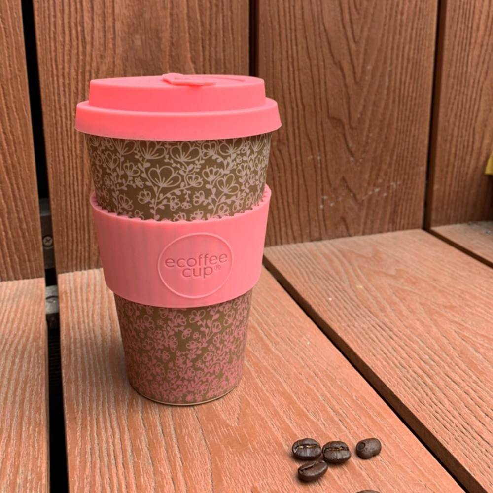 Ecoffee Cup|環保隨行杯14oz(薑花黃)