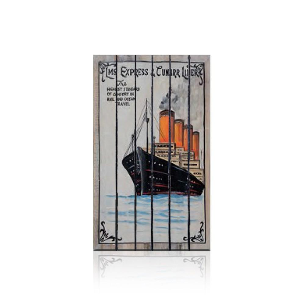 【ALMI】VOYAGER 40x60 木板畫( 7款可選)CUNARD LINE 1