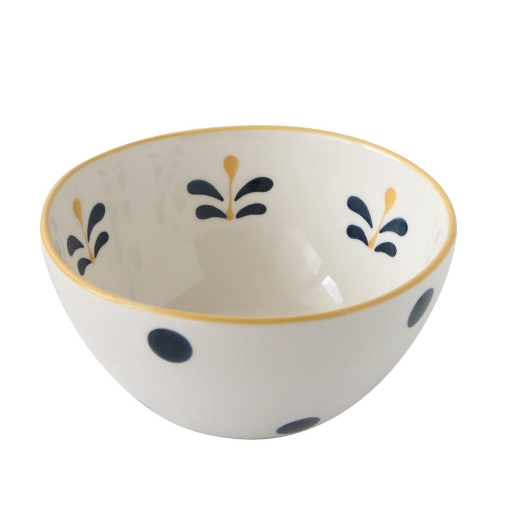 春之序手繪陶瓷7吋圓缽