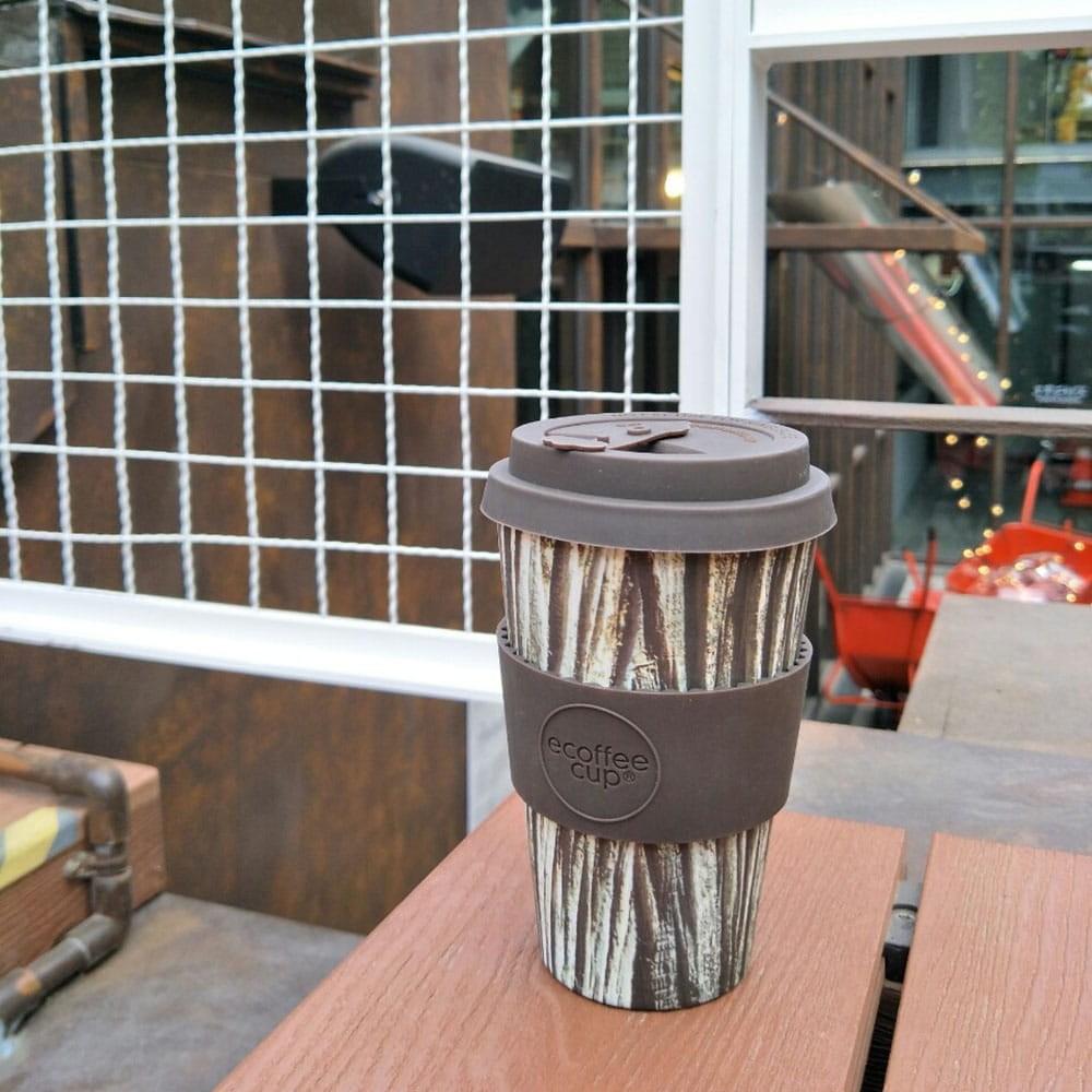 Ecoffee Cup|環保隨行杯14oz(樹紋棕)