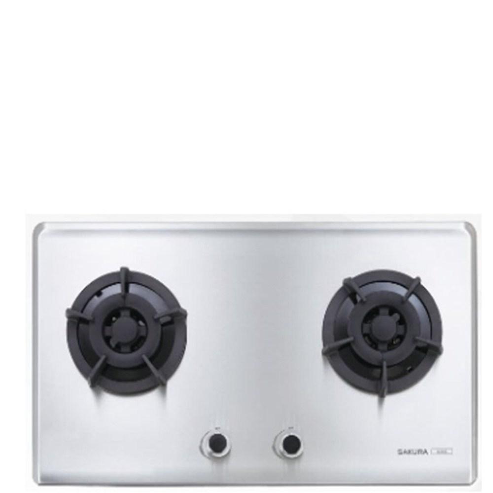 (全省安裝)櫻花雙口檯面爐G-2522SN瓦斯爐天然氣