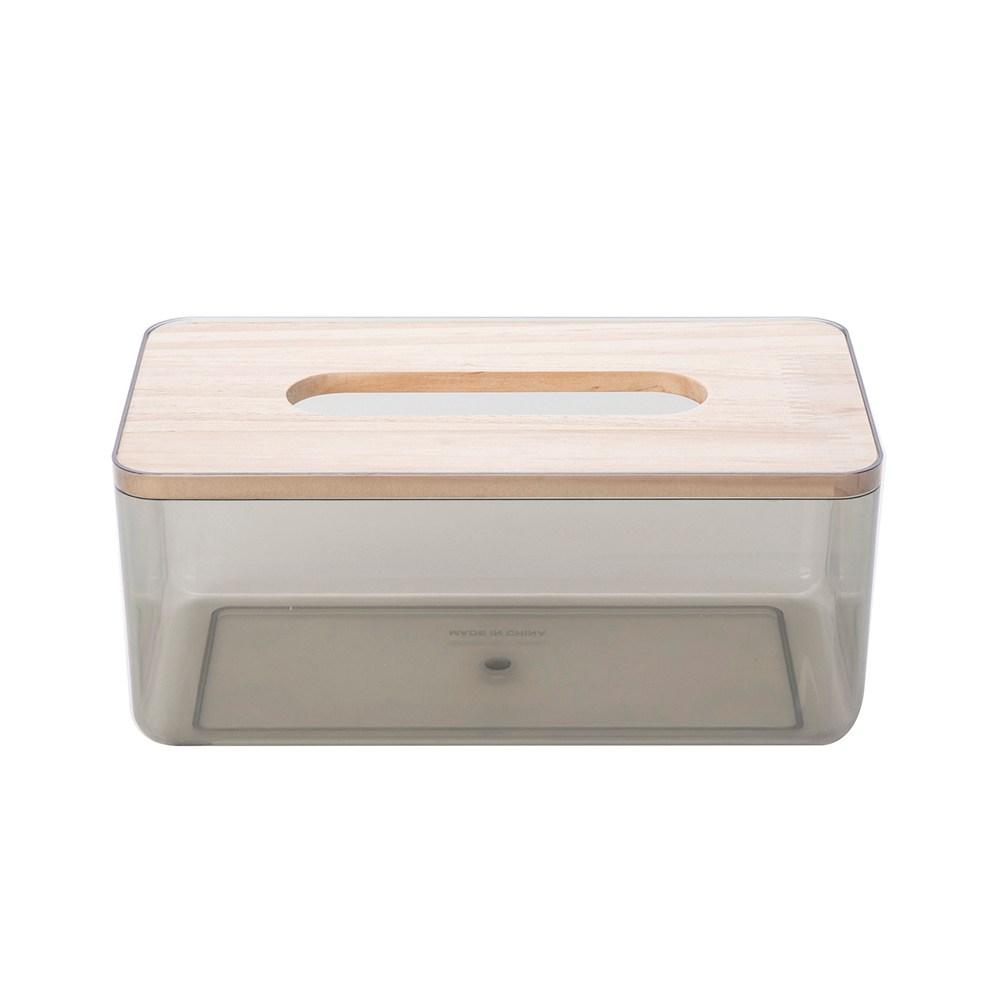簡約透明紙巾盒