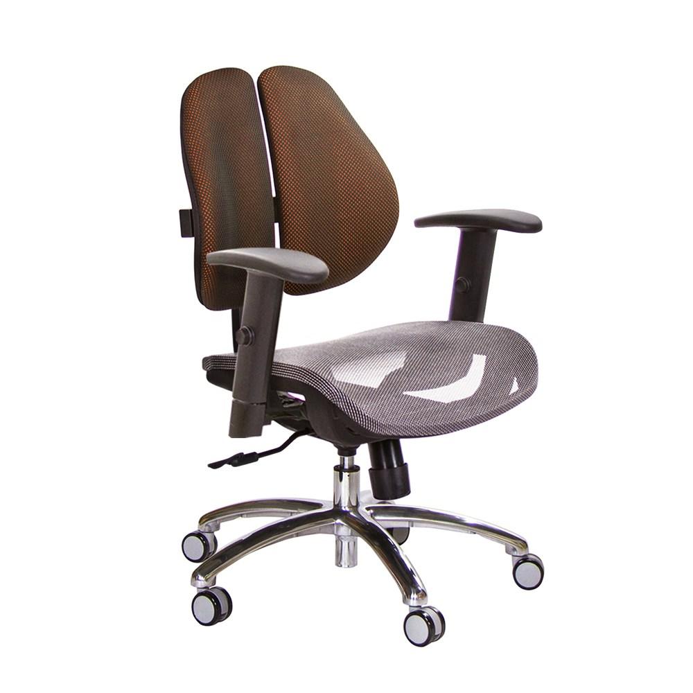 GXG 低雙背網座 電腦椅 (鋁腳/升降扶手) TW-2803 LU5訂購後備註顏色