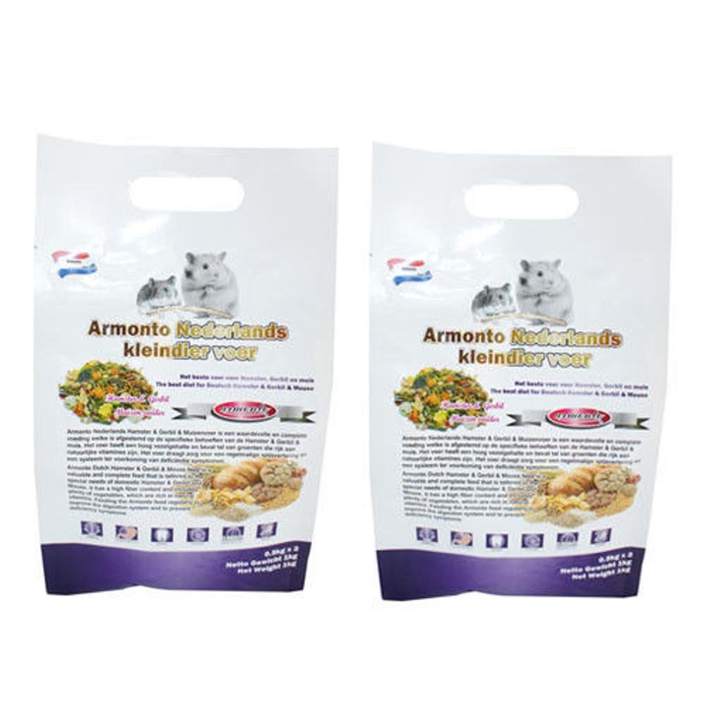 Armonto 阿曼特荷蘭特級機能全鼠類主食 1公斤 X 2包