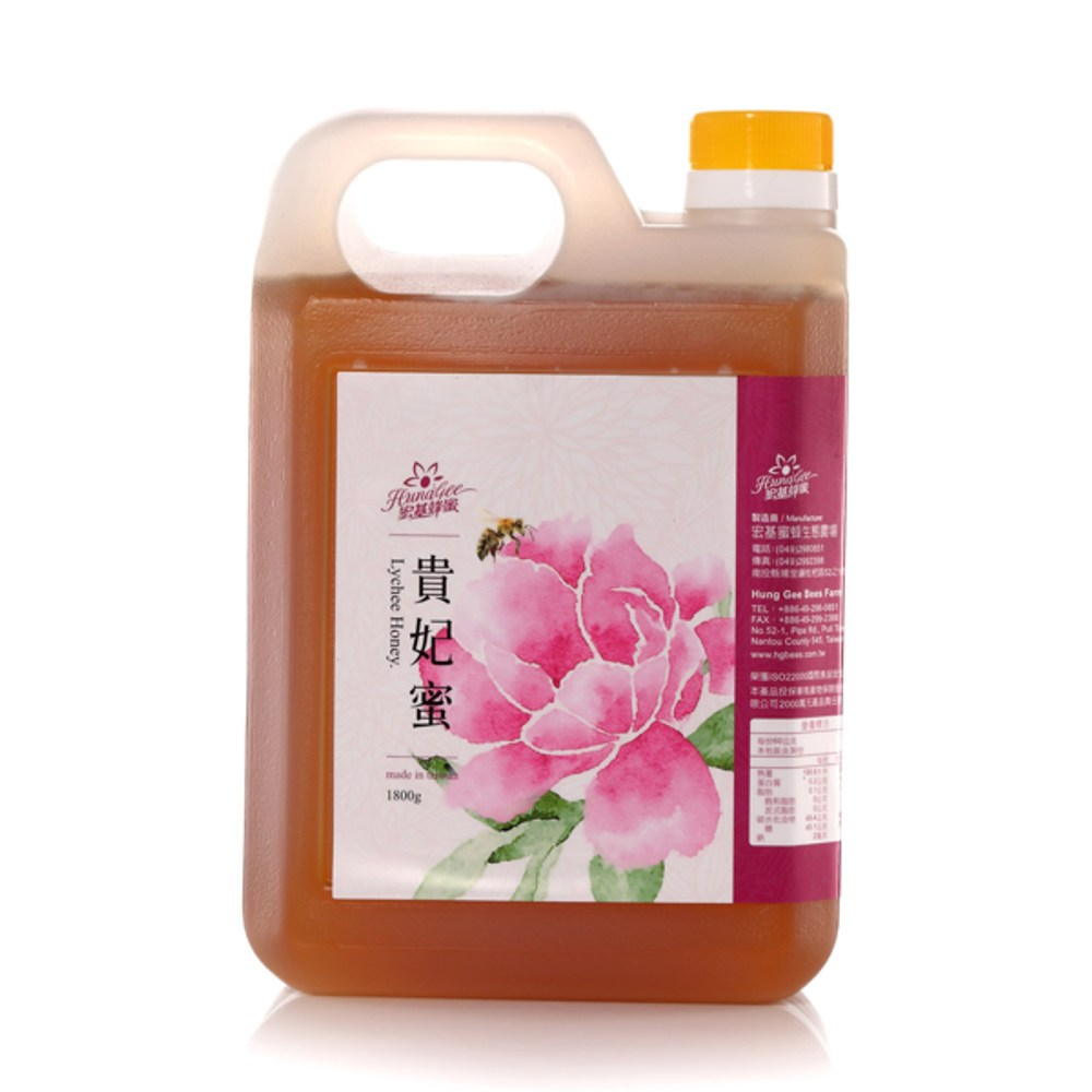 宏基.荔枝蜜(貴妃蜜)(1800g桶)