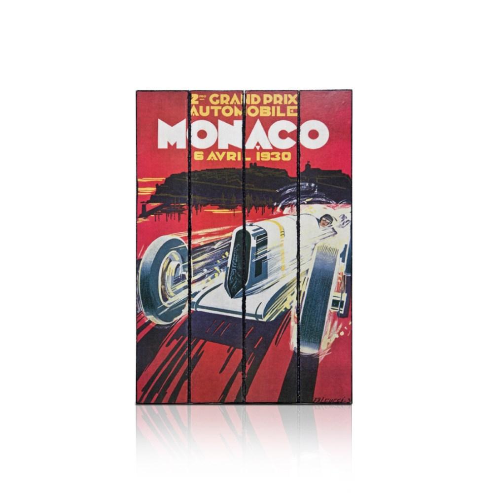 【ALMI】EXPLORER 60x100 木板畫(7款可選)MONACO