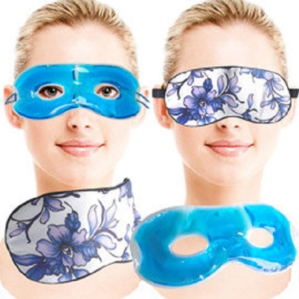 蠶絲冷熱敷兩用舒適眼罩(青花瓷)