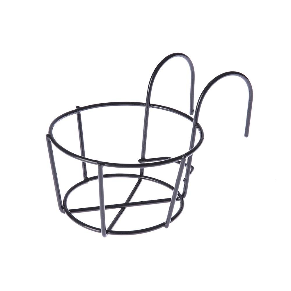 單盆鐵掛架黑色(特小)