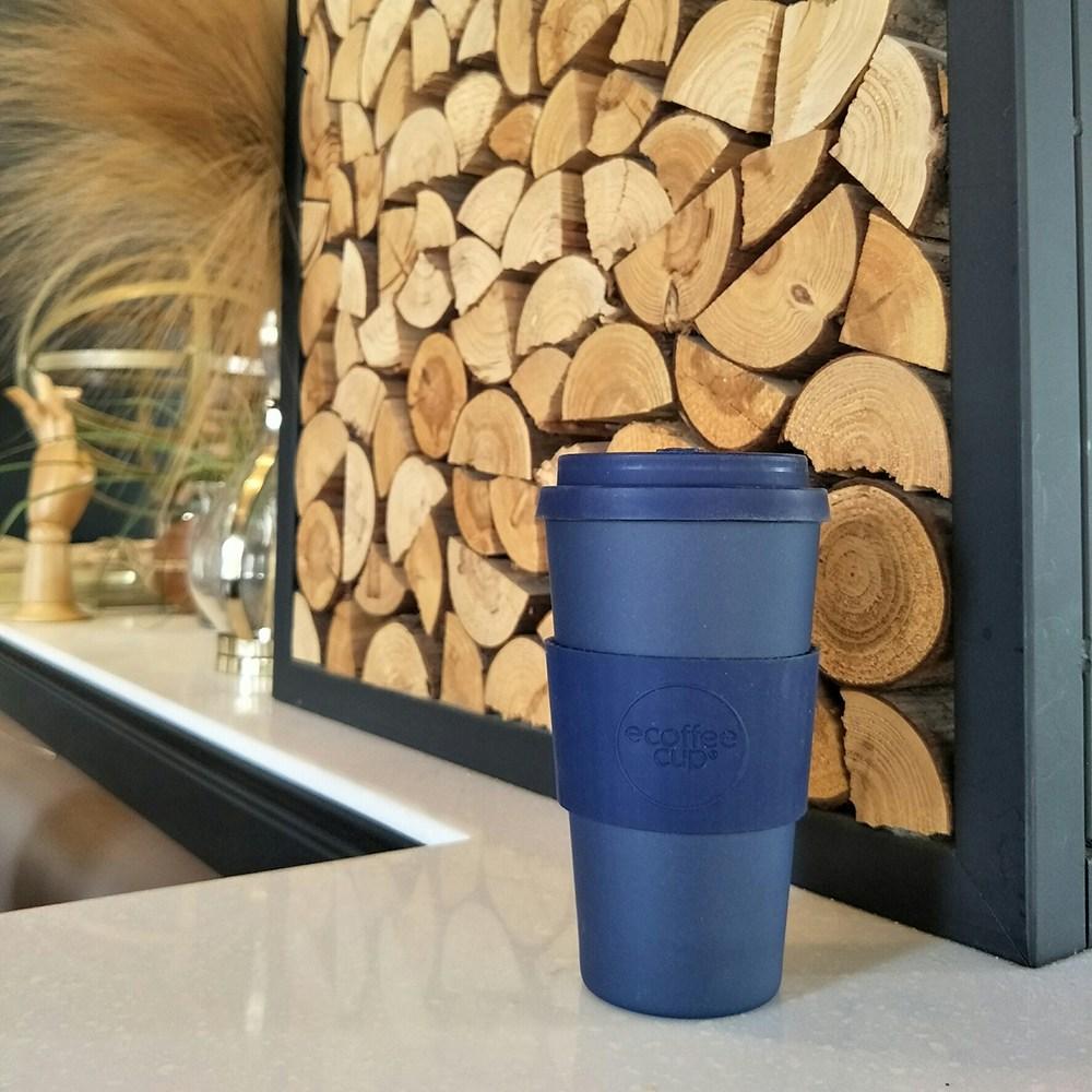 Ecoffee Cup|環保隨行杯16oz(深海藍)