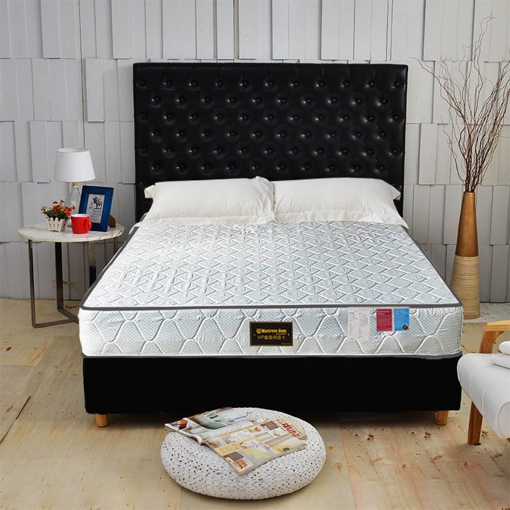 【睡芝寶】正反可睡-3M防潑水抗菌蜂巢獨立筒床墊雙人5尺