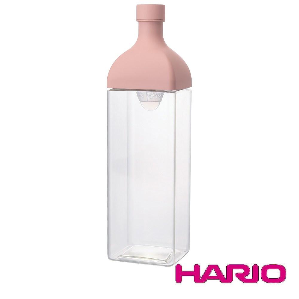HARIO 方形粉1200冷泡茶壺 KAB-120-SPR 1200m單一規格-粉色