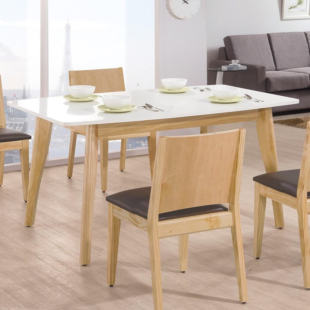 奧斯卡雙色5尺餐桌