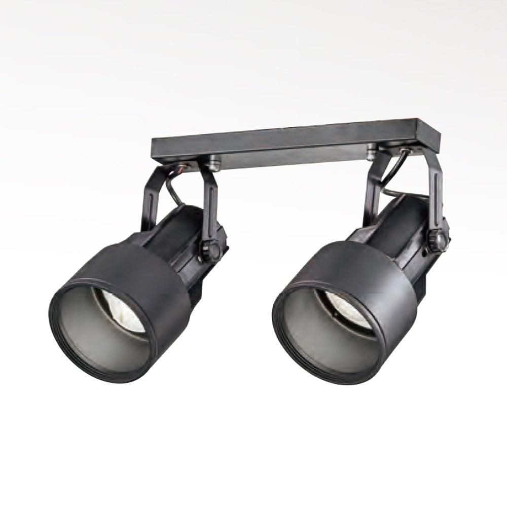 【YPHOME】現代風金屬半吸頂2燈 可轉向