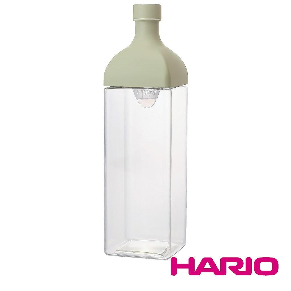 HARIO 方形綠1200冷泡茶壺 KAB-120-SG 1200ml單一規格-綠色