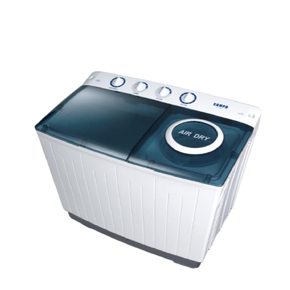 聲寶10公斤雙槽洗衣機ES-1000T