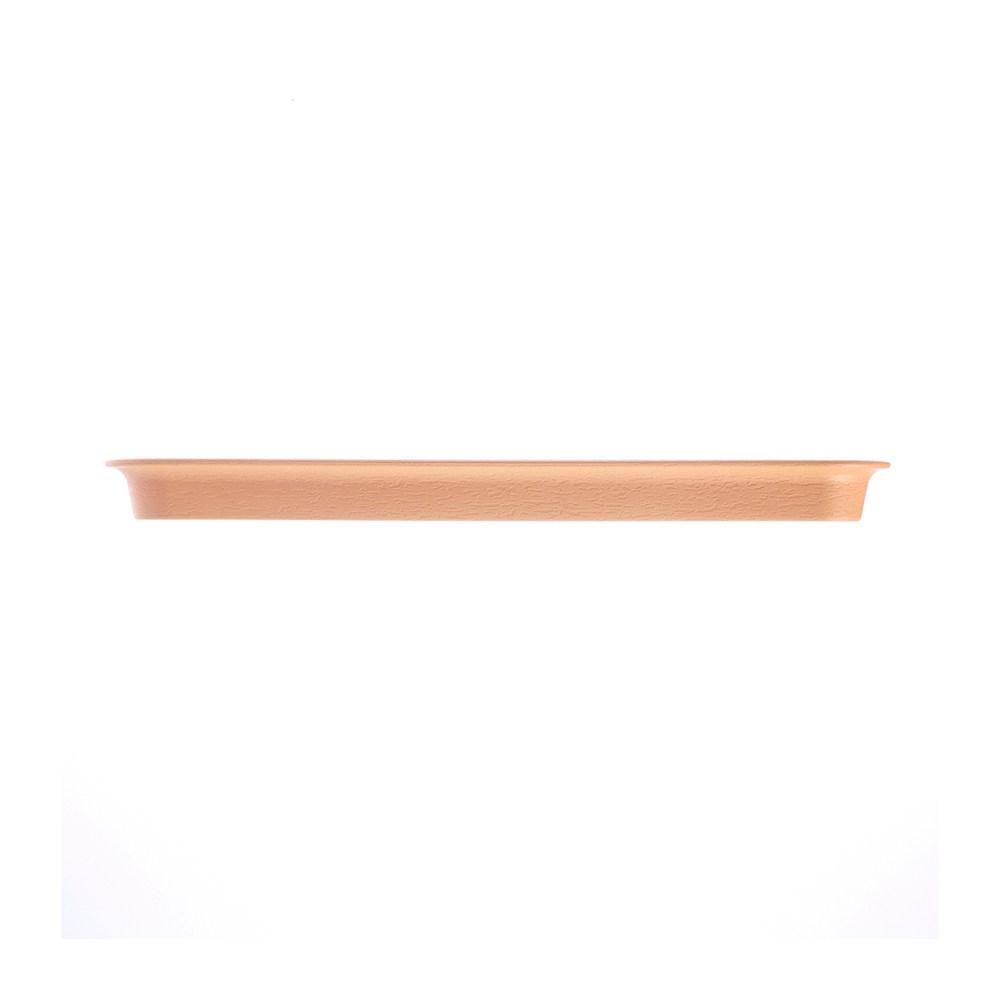 亞麻PP長方型底盤尺3(淡棕)