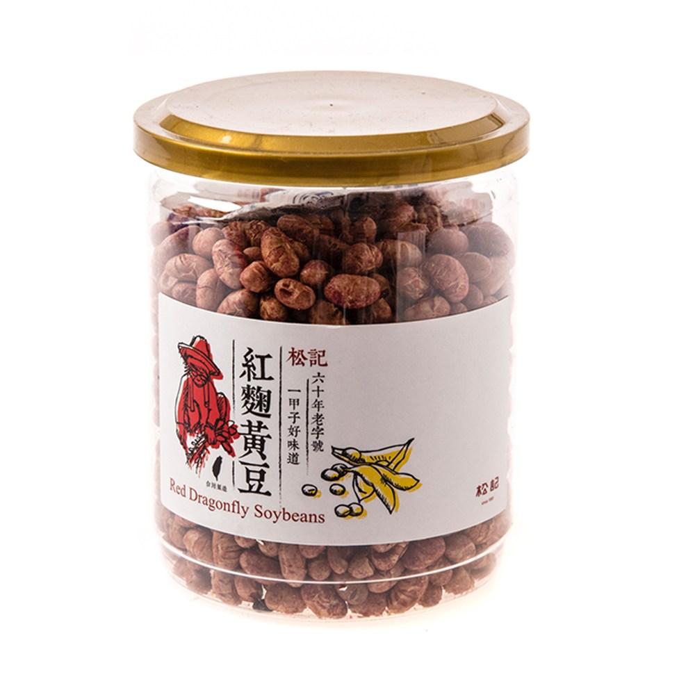 松記紅麴黃豆220g