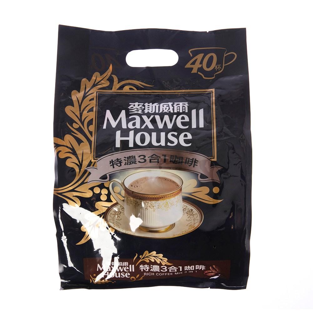 麥斯威爾特濃3合1咖啡-TH-40*13g