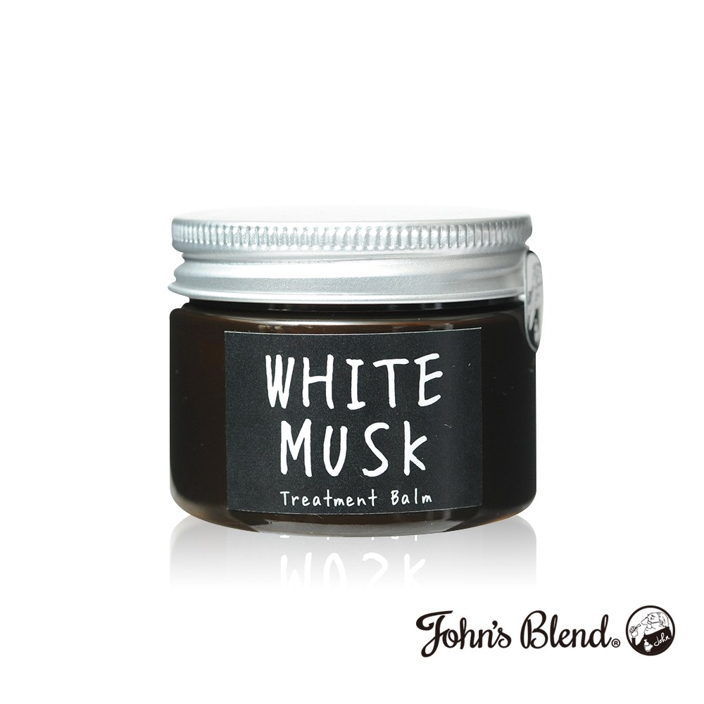 日本John's Blend 香氛草本滋養修護霜(45g/罐)白麝香