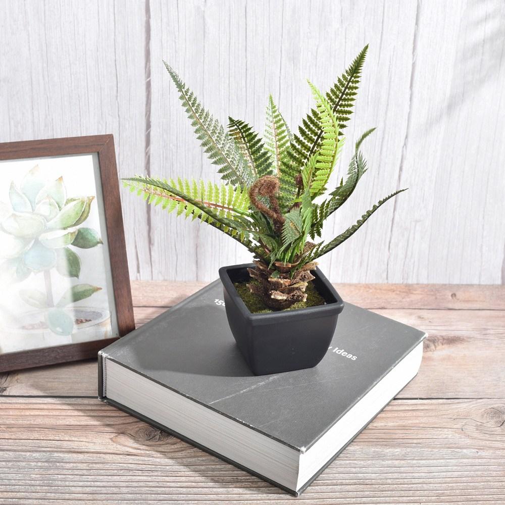 【Meric Garden】仿真迷你沙欏小盆栽/桌面裝飾擺設