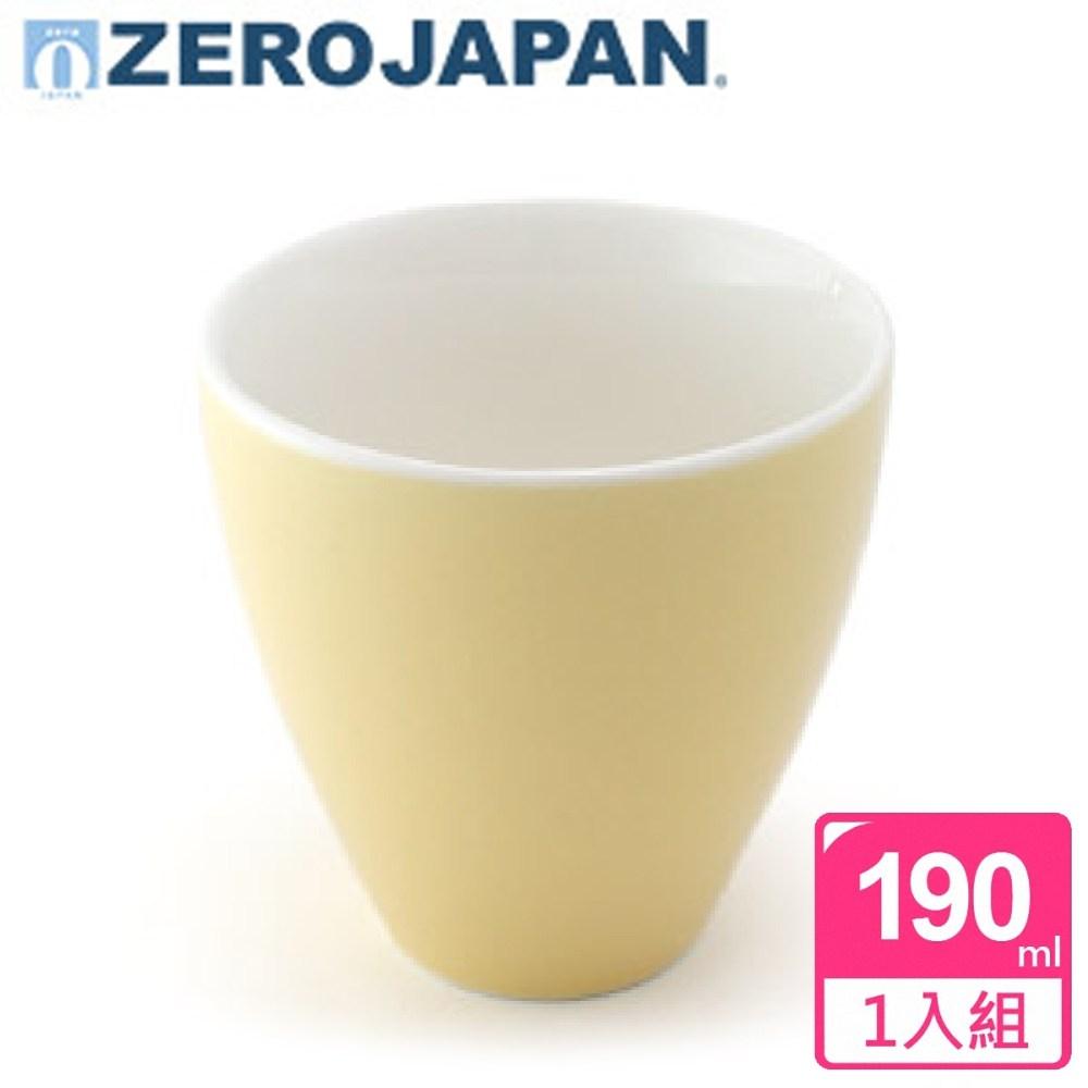 ZERO JAPAN 典藏之星杯(香蕉黃)190cc 190cc