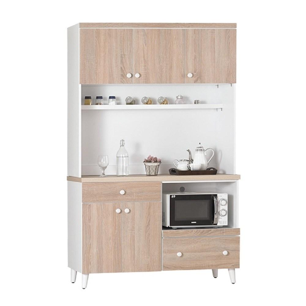 小北歐4尺餐櫃全組