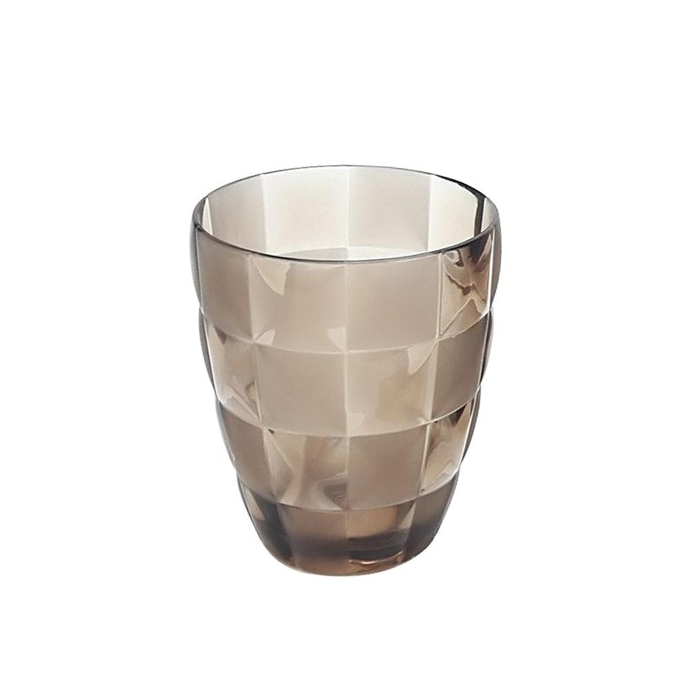 Grid漱口杯-棕
