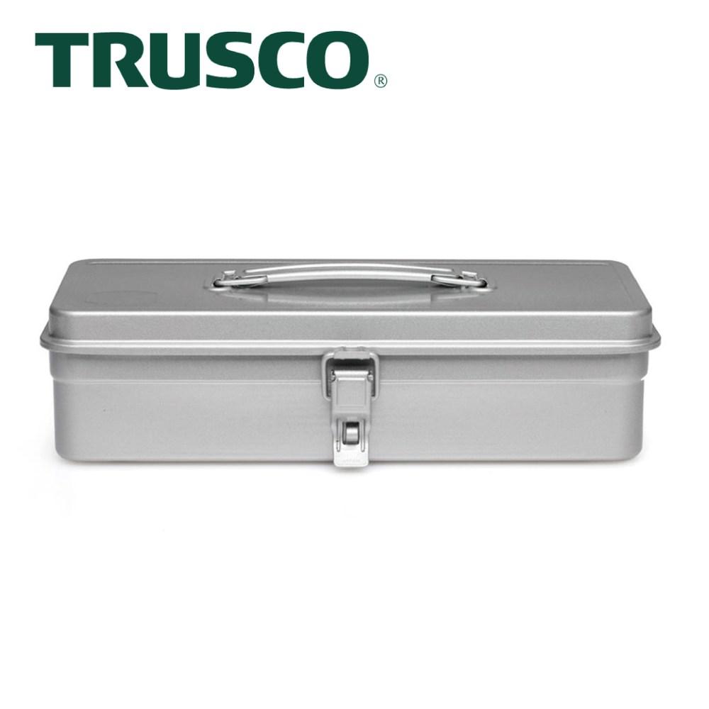 【Trusco】經典單層工具箱(中)-槍銀