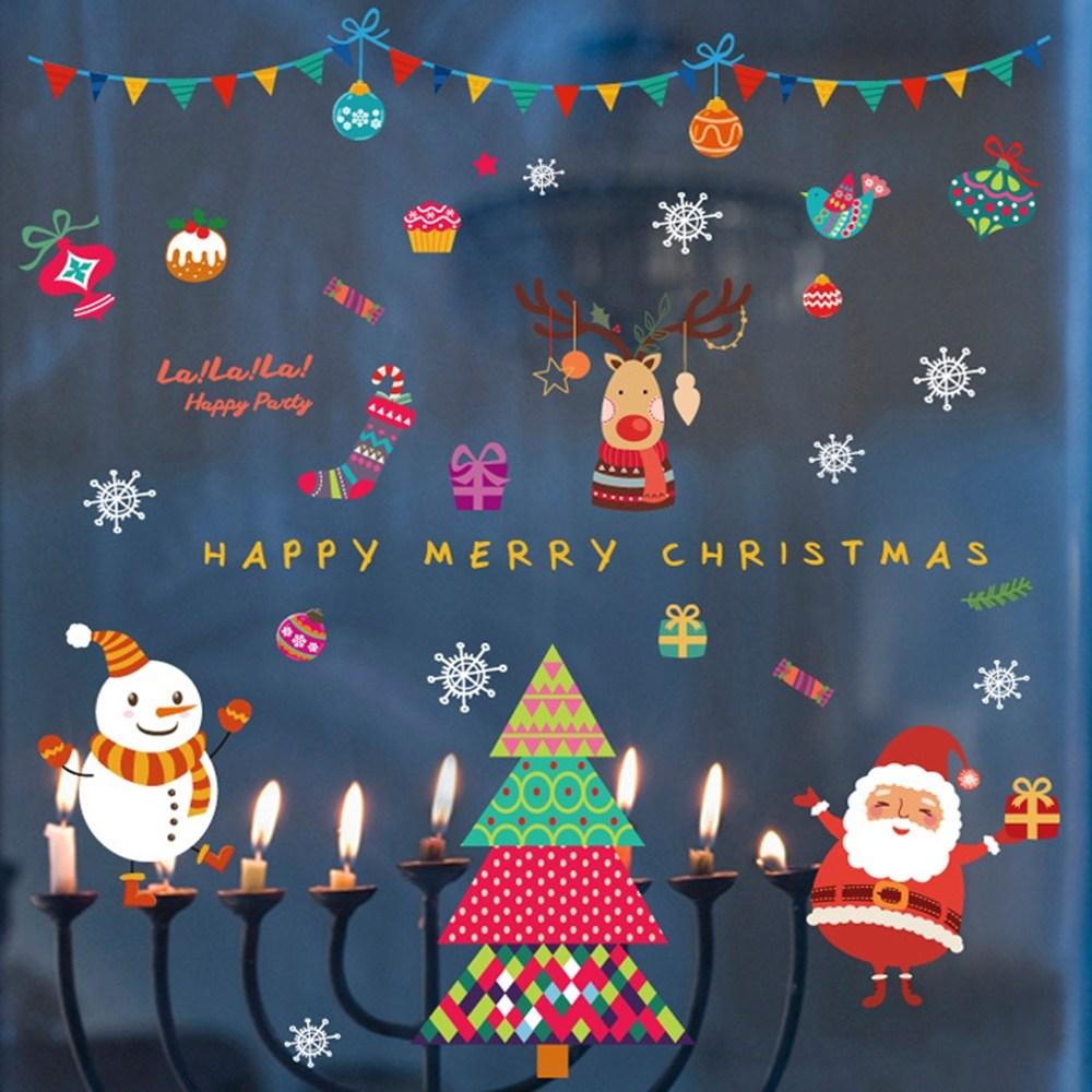 【Loviisa 聖誕晚會】無痕壁貼 壁紙