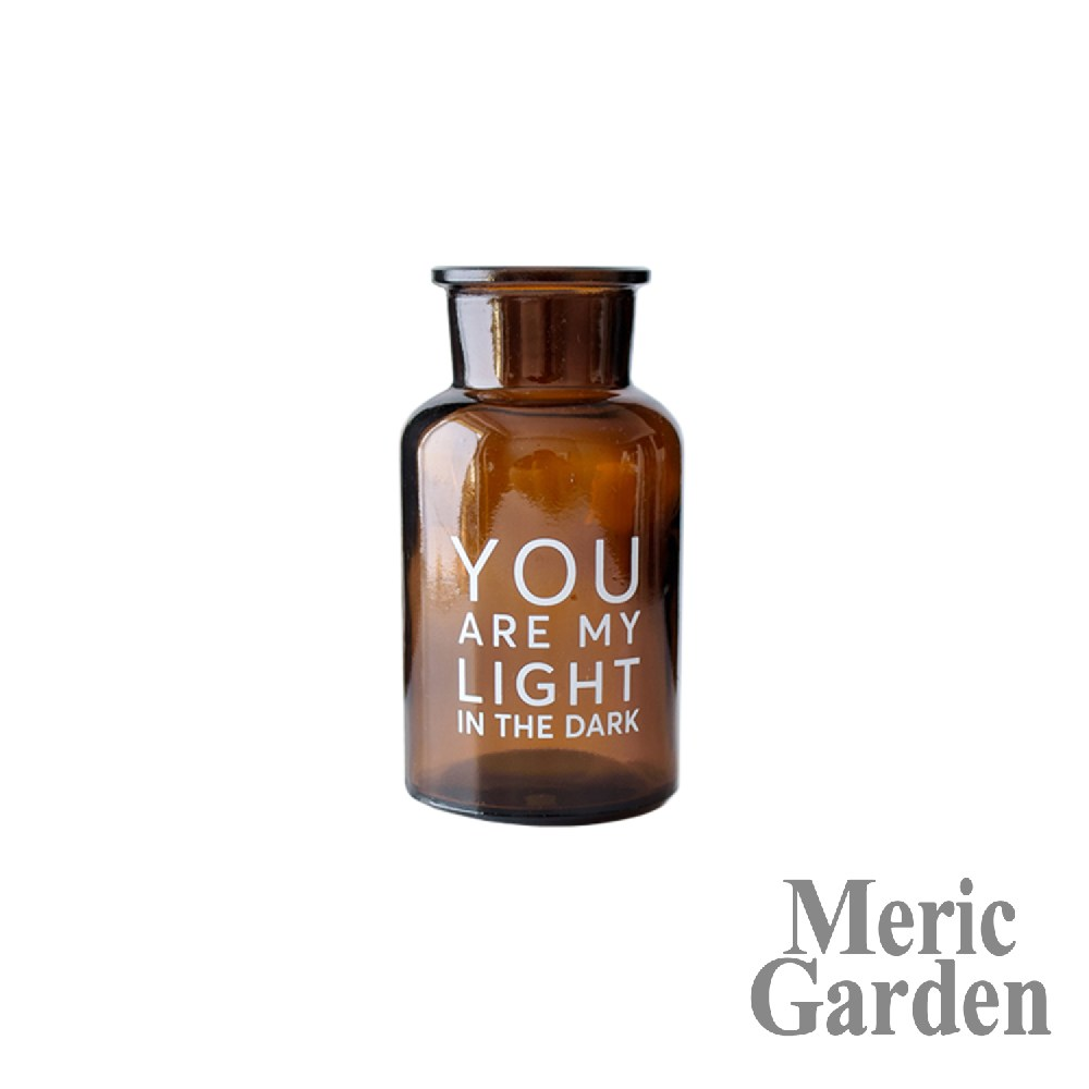 【Meric Garden】北歐ins風創意簡約裝飾玻璃花瓶/復古花瓶S