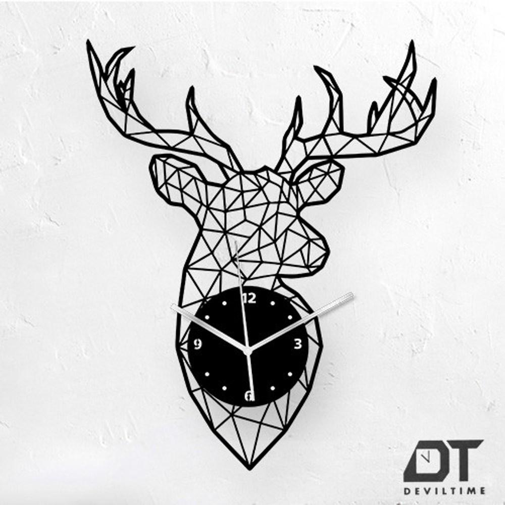 DT Time 幾何系列時鐘 幾何鹿