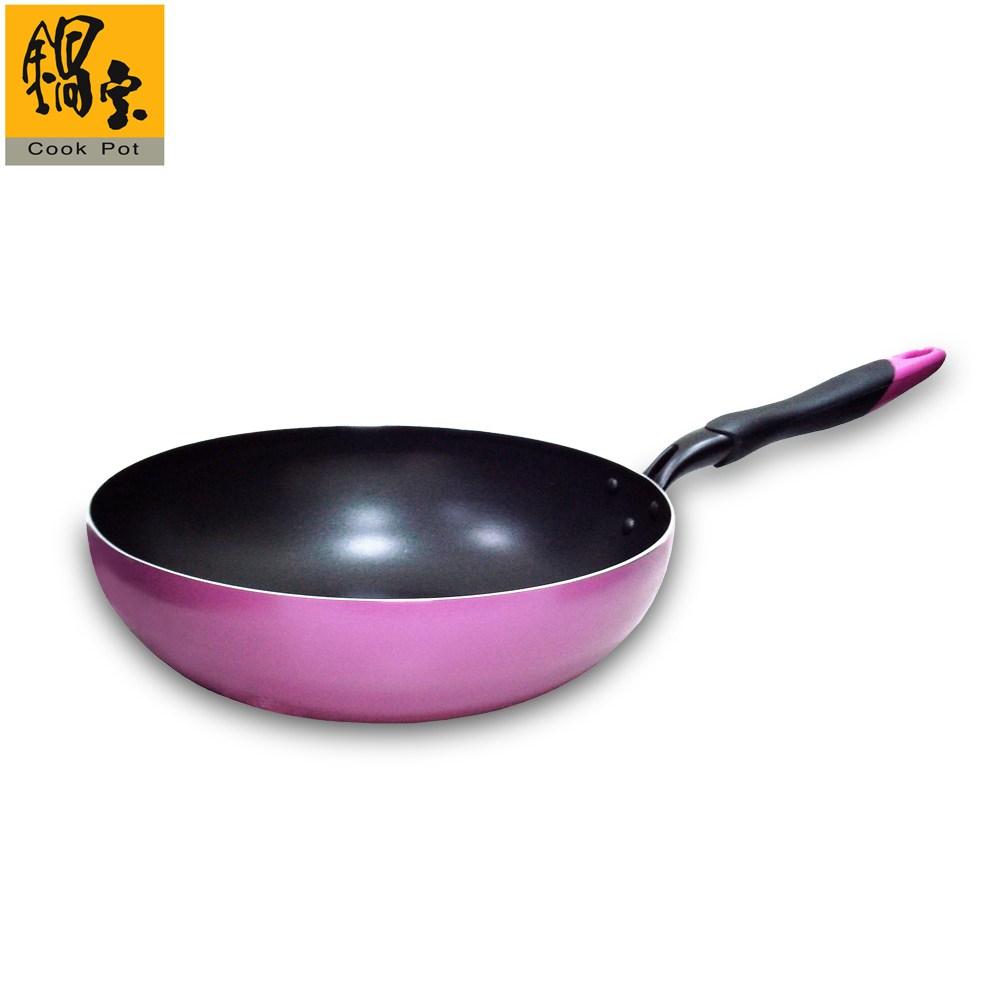 【鍋寶】品味日式不沾小炒鍋 IKH-10530-1-C(30CM)