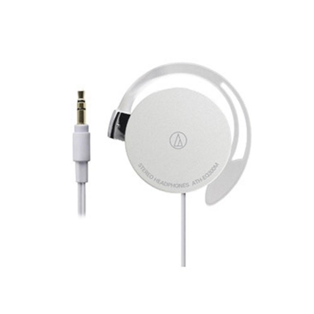 鐵三角 ATH-EQ300M 白色 耳掛式耳機 超輕薄20g
