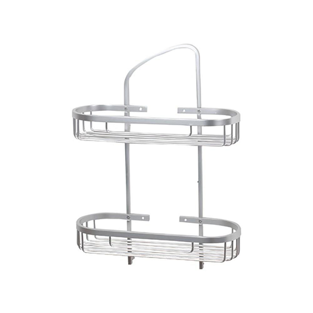 時尚鋁合金雙層置物籃