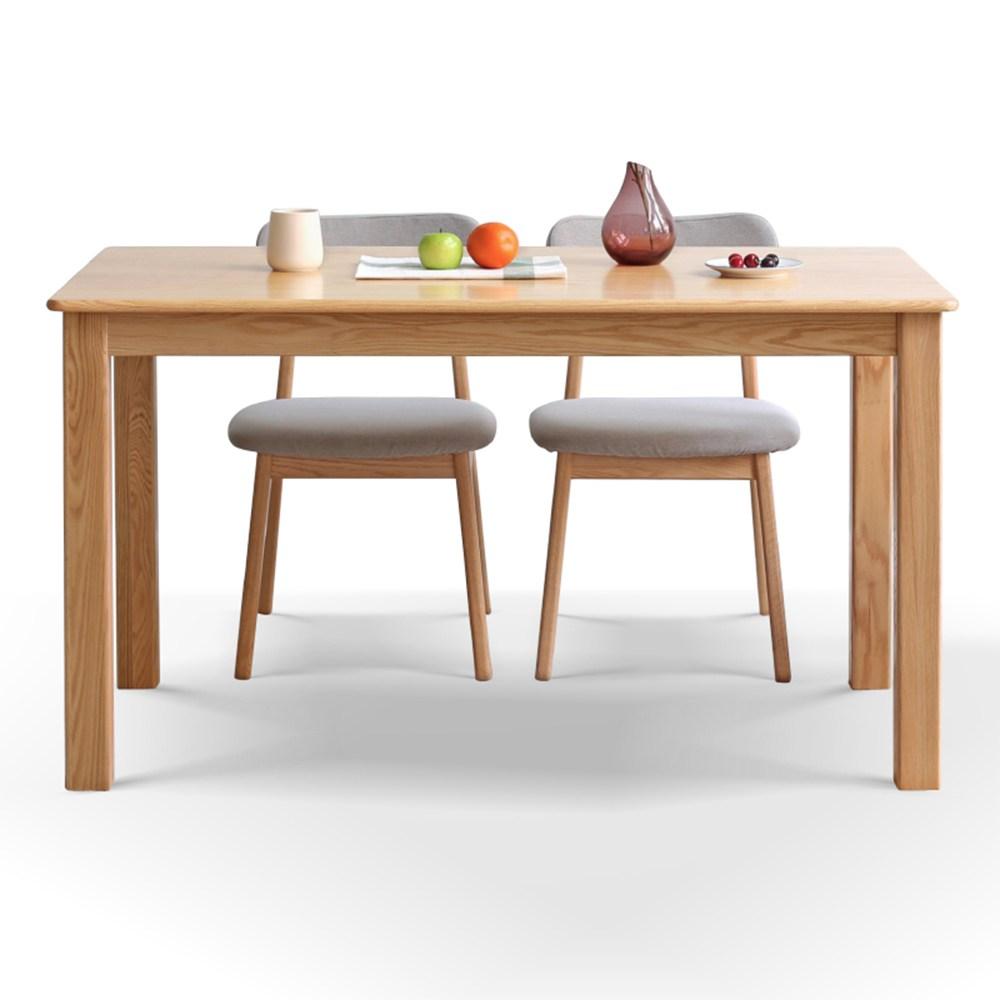 源氏木語鹿特丹橡木1M餐桌Y2850+餐椅Y90S63 (一桌兩椅)