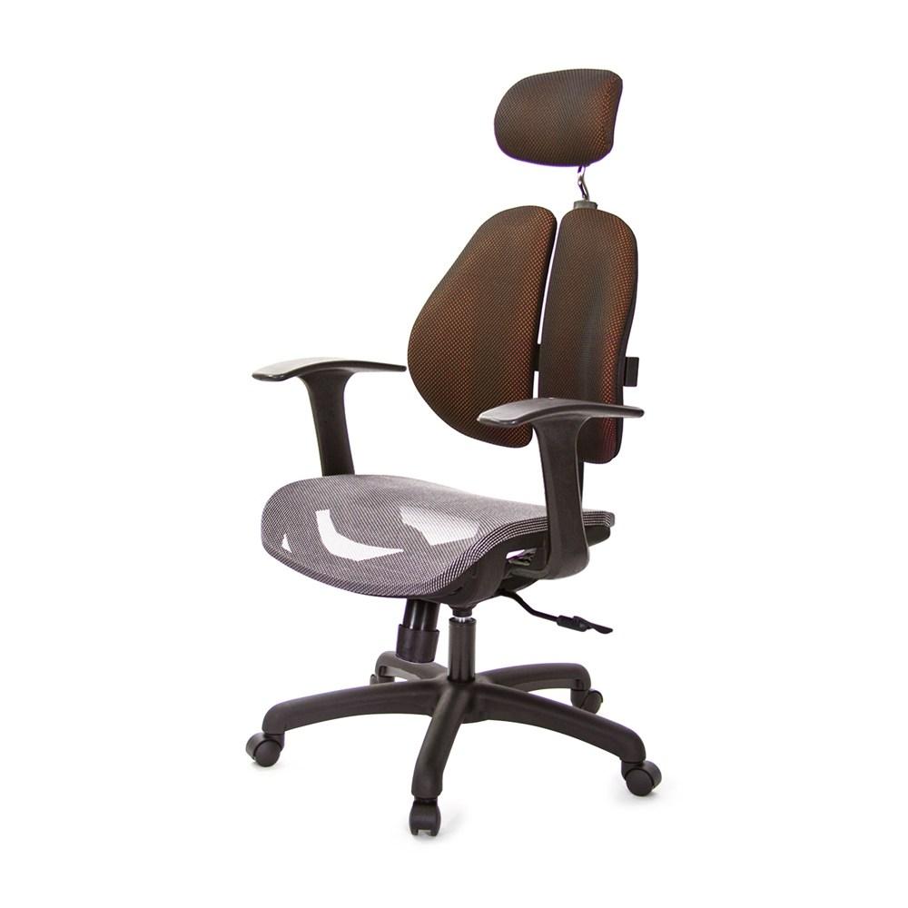 GXG 高雙背網座 電腦椅 (T字扶手)  TW-2804EA#訂購備註顏色