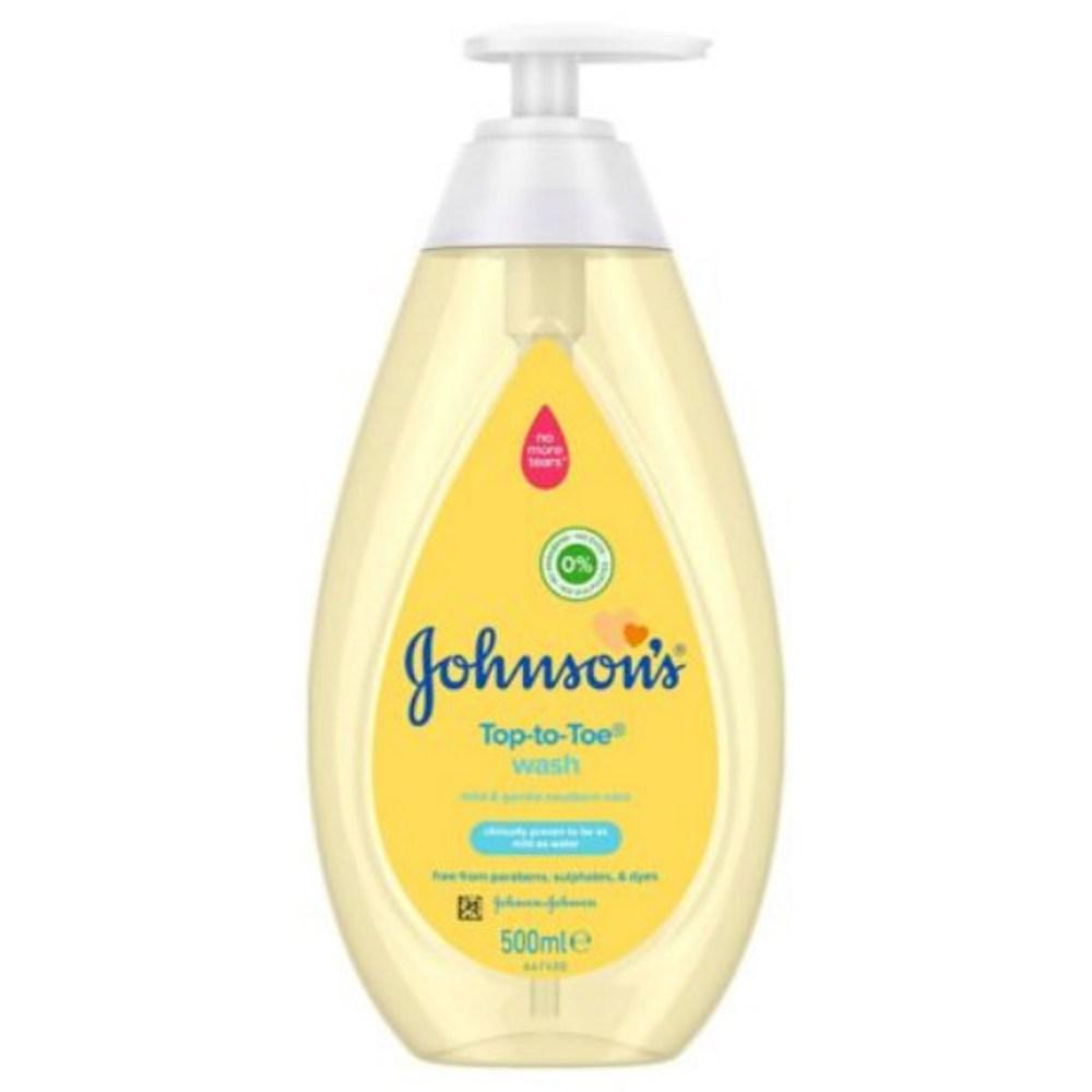 義大利Johnson's洗髮沐浴乳(原味配方)500ml*6